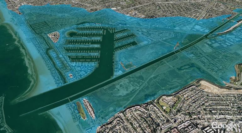 Sea Levels/Marina del Rey, Architecture2030.com